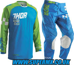 thor motocross jersey 2016 thor phase ramble youth motocross kit combo blue green