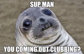 Sup Meme - awkward moment sealion meme imgflip