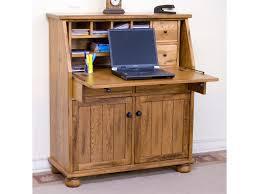 Secretary Style Computer Desk by Market Square Morris Home Drop Leaf Laptop Desk Armoire Morris