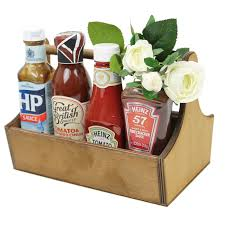 decor beautiful condiment caddy with wooden condiment caddy and