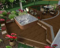 Backyard Deck Plans Pictures by 63 Tub Deck Ideas Secrets Of Pro Installers U0026 Designers