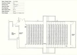Theater Floor Plan Gallery Of How To Design Theater Seating Shown Through 21