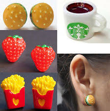 food earrings food earrings ebay