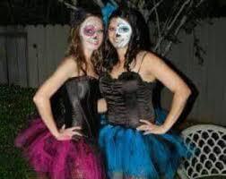 Blue Black Halloween Costumes Dead Tutu Etsy