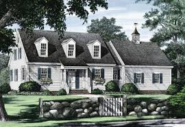 cape cod house plans open cape cod with open floor plan 32435wp architectural designs