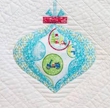 vintage ornaments quilt along weallsew