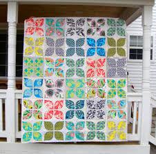 flower garden quilt pattern friday finish modern flower garden quilt top sarah quilts
