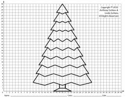tree middle coordinate drawing u0026 graphing mystery picture