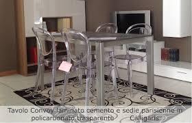 tavoli sala da pranzo calligaris gallery of best sedie trasparenti calligaris images tavoli da