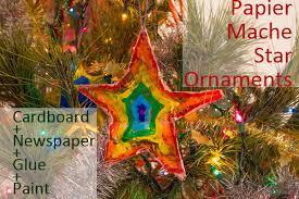 ornaments with papier mache