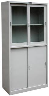 bookcase with file cabinet steel office furniture glass sliding door bookcase file cabinet