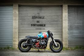 honda gl bobber feature the honda gl 1000 by surleschapeauxderoues cafe