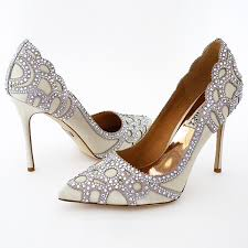 wedding shoes sale badgley mischka wedding shoes ivory pumps trim