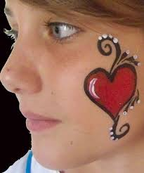 easy cheek painting ideas for kids google search face painting