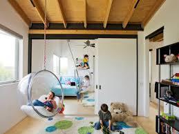 diy kids bedroom ideas wonderful kids bedroom with hanging chair also book shelf as cute