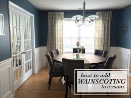 Pictures Of Wainscoting In Dining Rooms How To Install Wainscoting
