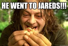 He Went To Jared Meme - he went to jared meme funny went best of the funny meme