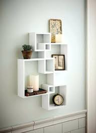 unique wall decor ideas home floating wall shelves decorating ideas hyperworks co