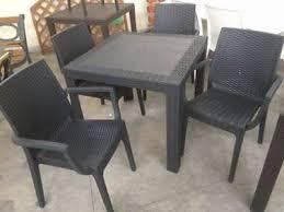 tavoli da giardino rattan tavolo sedie rattan zeppy io