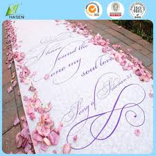 wedding runner new style wedding carpet aisle runner for decoration