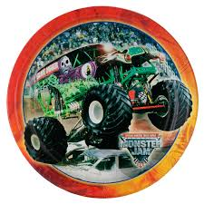 monster jam truck party supplies monster jam trucks party supplies monster jam dinner plates