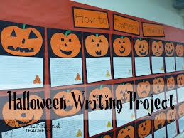 how to carve a pumpkin halloween writing project squarehead
