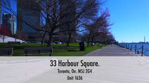 55 Harbour Square Floor Plans 33 Harbour Square Toronto On M5j 2g4 Unit 1636 Hd Virtual