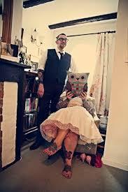 nic u0026 mike u0027s diy vintage tattooed tea stained wedding tattooed