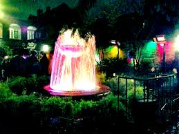 outdoor u0026 landscaping extraordinary fire fountain in the night