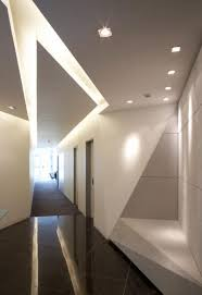 architecture modern interiors corridors hallways ceilings