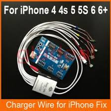 smart phone repair power charger line wire cable for iphone 4 4s 5
