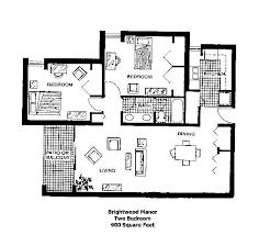 2 bedroom home floor plans brightwood manor b27 900 3 902 6 brightwood 2 bedroom floor plan jpg