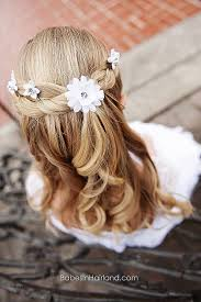 flower girl hair curly hairstyles unique flower girl hairstyles for curly hair