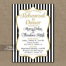 wedding rehearsal dinner invitations black gold wedding rehearsal dinner invitations nifty printables