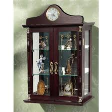wall mounted curio cabinet jenlea wall mounted curio cabinet wayfair