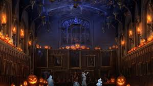 background halloween pottermore background halloween in the great hall by xxtayce on