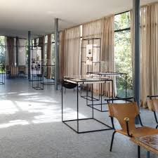 lina bo bardis archive on display at her glass house in paulo