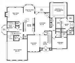 Free Home Plan 4 Bedroom 3 Bath House Plans Home Planning Ideas 2017