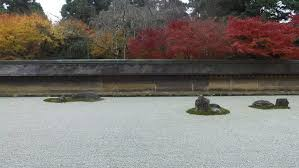 the famous dry landscape rock garden at ryoanji or ry an ji a