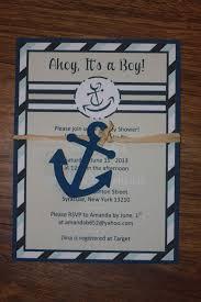 etsy nautical baby shower invitations stephenanuno com
