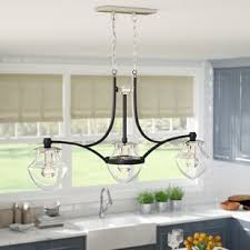 kitchen island pendant lighting kitchen island lighting you ll wayfair