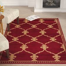 Fleur De Lis Area Rug Astoria Grand Coggrey Fleur De Lis Area Rug Reviews Wayfair