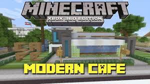 Minecraft House Design Xbox 360 by Minecraft Xbox 360 Modern Cafe Showcase Youtube