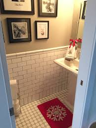 Holiday Bathroom Rugs by Last Minute Christmas Decor Not To Be Confused With My Holiday