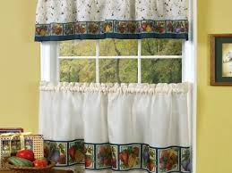 Bay Window Valance Kitchen Kitchen Window Curtains And 16 Window Coverings For Bay