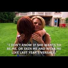 Single White Female Meme - a guide to dealing with life according to the real housewives