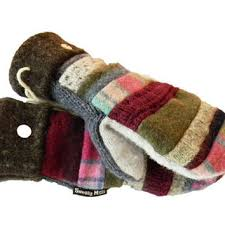 sweater mittens wool sweater patchwork mittens by sweaty from sweaty mitts
