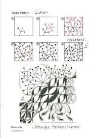 zentangle pattern trio zentangle pattern trio by zenjoy zentangel pinterest zentangle