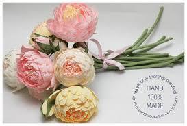 Wedding Flowers Manchester Alternative Wedding Bouquets Paper Peonies Natural Wedding