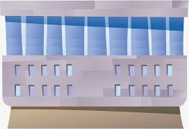 bureau logement bâtiment commercial de dessins animés bureau logement